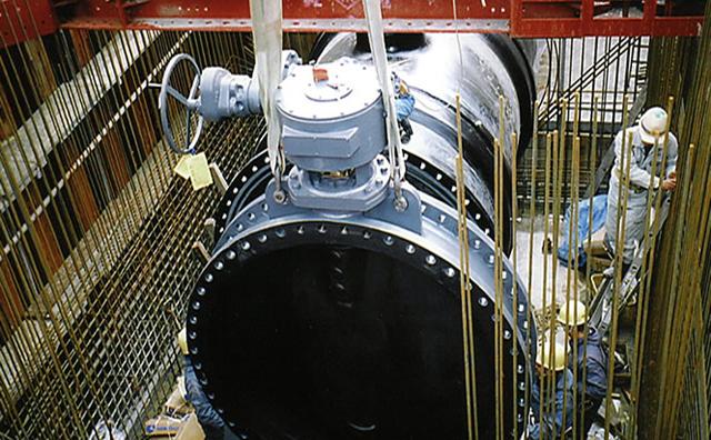 住友化学COX海水送水管布設