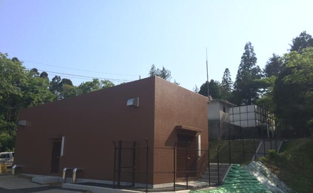 鹿野山ポンプ室建設工事